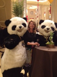 Elaine Harris and PANDA escorts