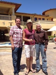 Matt Orttman, Elaine Harris, Scott Harris