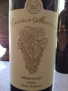 Chateau Margene Meritage 2009 Paso Robles
