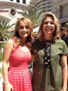 Chef Giada De Laurentiis and Cuisineist  Editor Elaine Harris