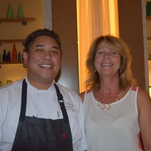Executive Chef Calimlim , Elaine Harris