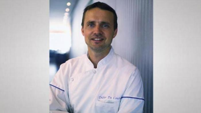 Chef Didier de Courten