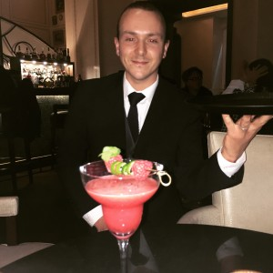 Mixologist Romain Tritsch Royal Savoy