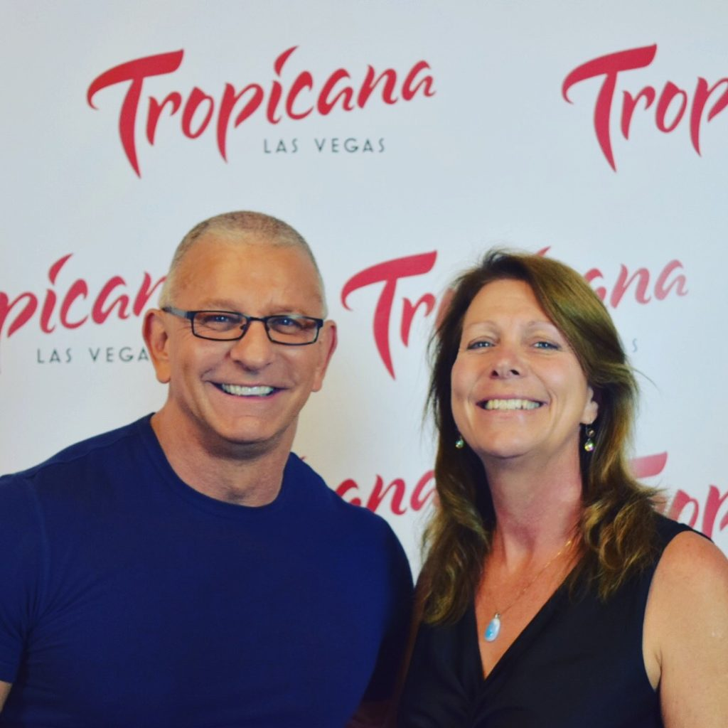 Chef Robert Irvine and Editor Elaine Harris