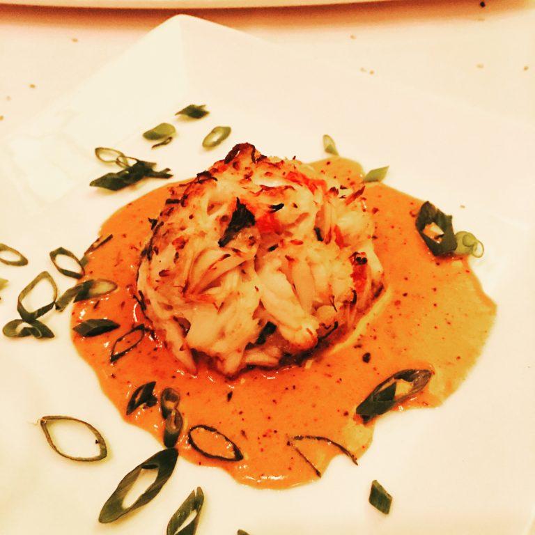 Jumbo Lump Crab Cake Cajun Lobster Sauce
